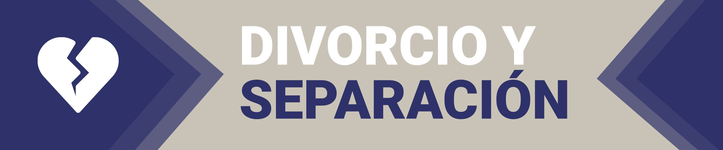 divorcio y separacion